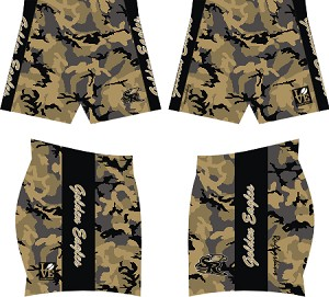 Golden Eagles Sublimated SDX Shorts