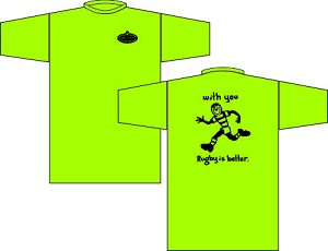"Rugby is Better ""with you"" T-shirt"
