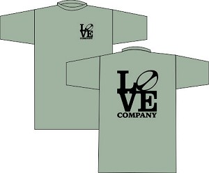 New Love Rugby Company T-shirt