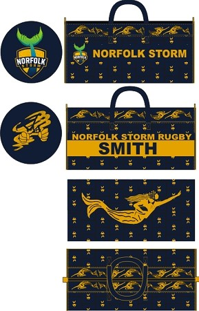 Love Rugby Delux Sublimated Kit Bag