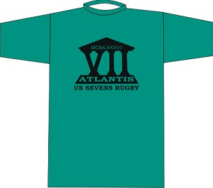 Teal Atlantis Wicking T-shirt