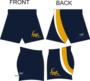 2015 Cape Fear Match shorts