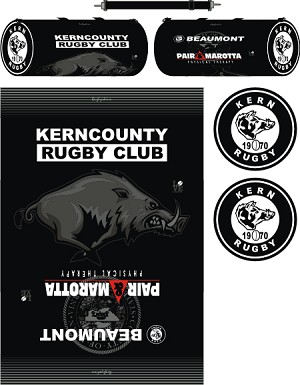 Kern County Rugby Sublimated Kit Bag