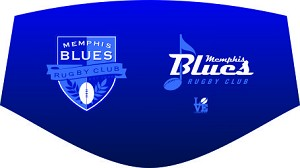 Memphis Blues Rugby Mask