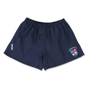 Memphis Flamingo Rugby shorts with logo