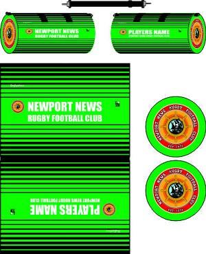 Newport News Rugby Sublimated Kit Bag