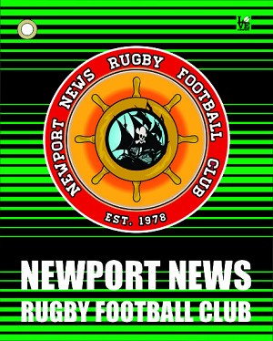Newport News Rugby Golf Towel