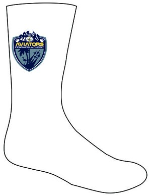 Pensacola Rugby White Training Socks