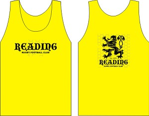 Reading Rugby Wicking  Tank Gold