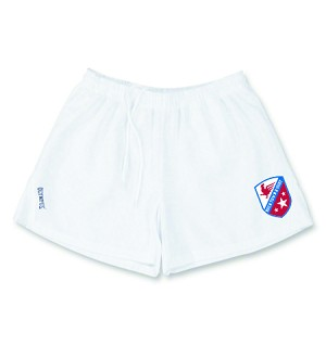 Rocktown Rugby shorts with logo