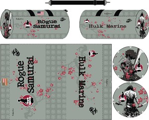 Rogue Samurai Rugby Sublimated Kit Bag