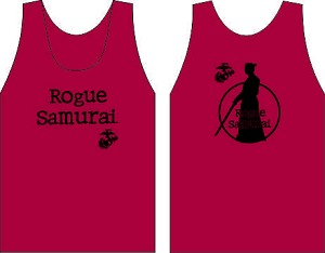 Rogue Samurai Wicking  Tank Red