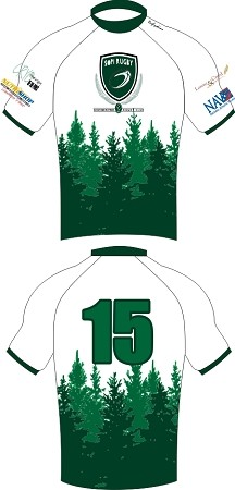 2017 Southern Pines Sevens Jersey