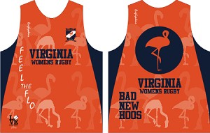 Virginia Women's Rugby Training Singlet