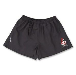 VYI Rugby shorts with logo BLACK