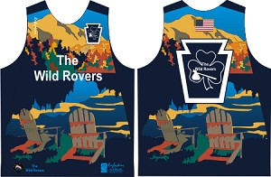 2020 The Wild Rovers Rugby Training Singlet