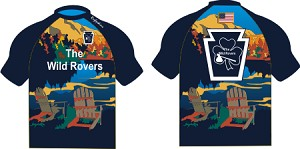 2020 The Wild Rovers Rugby Tech Tee