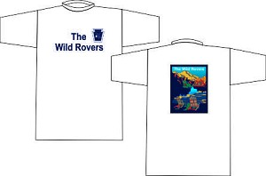 The Wild Rovers Rugby Wicking  T-shirt