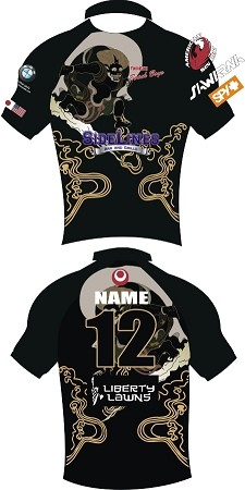 YOMITAN GOD OF WIND BLACK JERSEYS