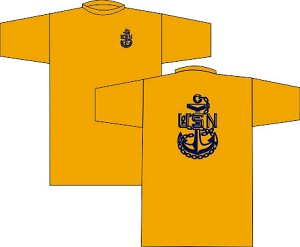 US Navy Chief Wicking T-Shirt