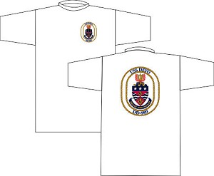 USS Glover FF-1098 T-shirt  White